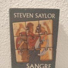 Libros de segunda mano: SANGRE ROMANA STEVEN SAYLOR. Lote 200530070