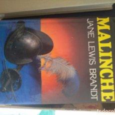 Libros de segunda mano: MALINCHE. JANE LEWIS BRANDT. CÍRCULO DE LECTORES. BARCELONA. 1981 FIJO. Lote 254901945