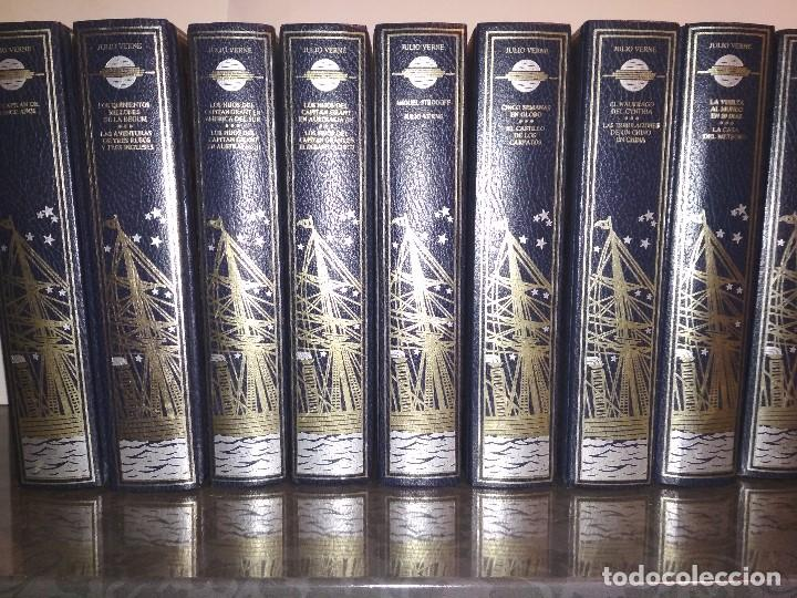 JULIO VERNE - VIAJES EXTRAORDINARIOS - 10 TOMOS - 18 TÍTULOS (Libros de Segunda Mano (posteriores a 1936) - Literatura - Narrativa - Novela Histórica)