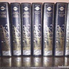 Libros de segunda mano: JULIO VERNE - VIAJES EXTRAORDINARIOS - 10 TOMOS - 18 TÍTULOS. Lote 201977742