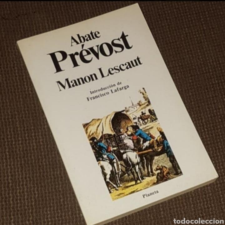 MANON LESCAUT - ABATE PRÉVOST, PLANETA CLÁSICOS UNIVERSALES, 1983 (Libros de Segunda Mano (posteriores a 1936) - Literatura - Narrativa - Novela Histórica)