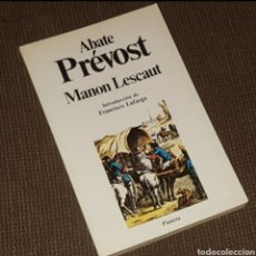 Libros de segunda mano: MANON LESCAUT - ABATE PRÉVOST, PLANETA CLÁSICOS UNIVERSALES, 1983. Lote 203824375