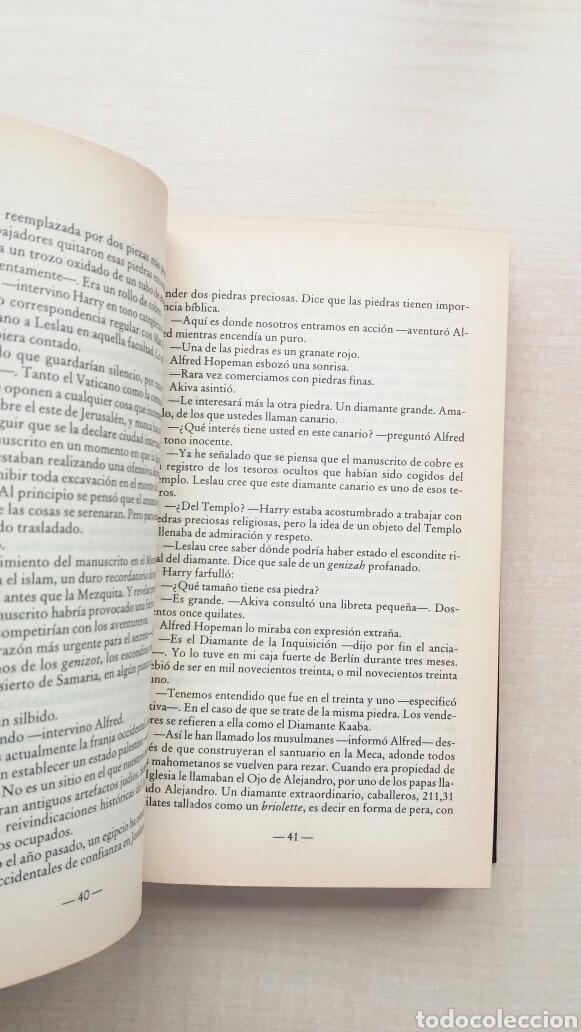 Libros de segunda mano: El diamante de Jerusalén. Noah Gordon. Ediciones B, biblioteca Noah Gordon, 2003. - Foto 7 - 205351430