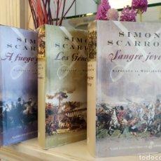 Libros de segunda mano: TRILOGÍA NAPOLEÓN VS WELLINGTON. Lote 206783105