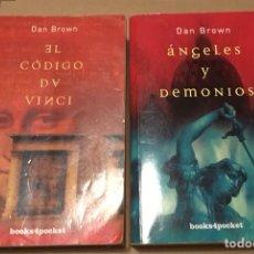 Libros de segunda mano: LOTE DAN BROWN. Lote 207566813