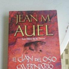 Livros em segunda mão: EL CLAN DEL OSO CAVERNARIO DE JEAN M AUEL. Lote 207806478