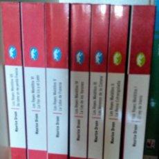 Livros em segunda mão: SERIE LOS REYES MALDITOS DE MAURICE DRUON. Lote 208050745