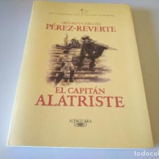 Libros de segunda mano: LIBRO EL CAPITAN ALA TRISTE ARTURO Y CARLOTA PEREZ REVERTE ALFAGUARA. Lote 208145610