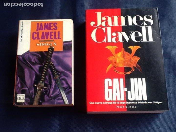 JAMES CLAVEL: SHOGUN + GAI JIN (Libros de Segunda Mano (posteriores a 1936) - Literatura - Narrativa - Novela Histórica)