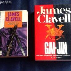 Libros de segunda mano: JAMES CLAVEL: SHOGUN + GAI JIN. Lote 236831975
