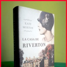 Libros de segunda mano: LA CASA DE RIVERTON, DE KATE MORTON - TAPA DURA. Lote 178265462