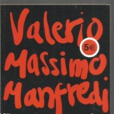 Libros de segunda mano: VALERIO MASSIMO MANFREDI. PALADION. DEBOLSILLO. Lote 210597523