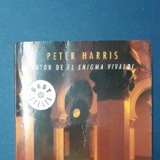 Libros de segunda mano: LA CONSPIRACIÓN DEL TEMPLO / PETER HARRIS / DE BOLSILLO. Lote 210838334