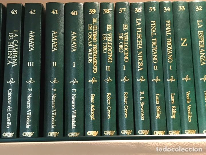 Libros de segunda mano: Biblioteca de novela Histórica, Editorial Orbis, completa, Colección 60 libros, año 1988, muy bien. - Foto 4 - 211699814