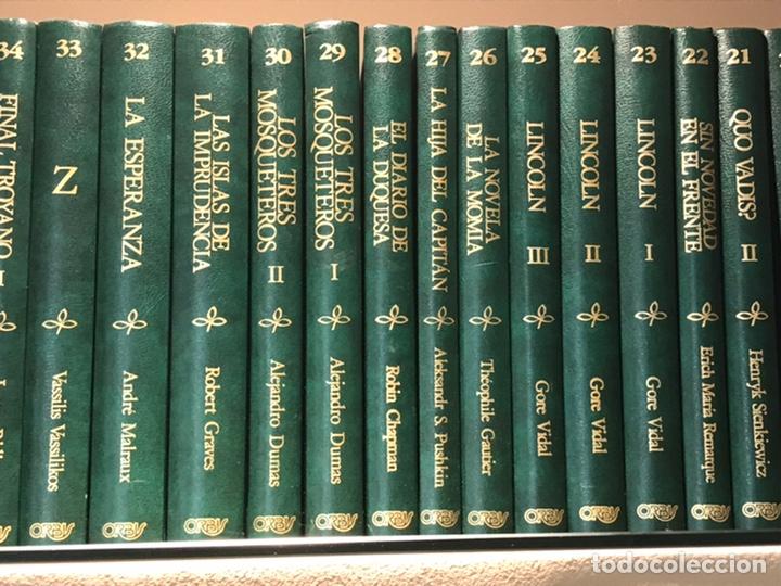 Libros de segunda mano: Biblioteca de novela Histórica, Editorial Orbis, completa, Colección 60 libros, año 1988, muy bien. - Foto 3 - 211699814