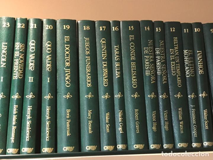Libros de segunda mano: Biblioteca de novela Histórica, Editorial Orbis, completa, Colección 60 libros, año 1988, muy bien. - Foto 2 - 211699814