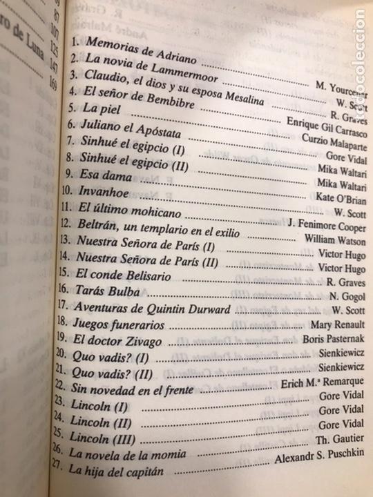 Libros de segunda mano: Biblioteca de novela Histórica, Editorial Orbis, completa, Colección 60 libros, año 1988, muy bien. - Foto 8 - 211699814