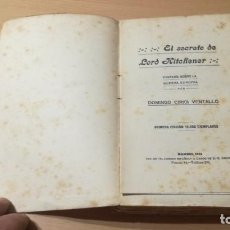 Libros de segunda mano: EL SECRETO DE LORD KITCCHENER - DOMINGO CIRICI VENTALLO - FANTASIA GUERRA EUROPEA / S-205. Lote 211828616