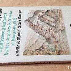 Libros de segunda mano: ILUSTRADOS BARBAROS DIARIO EXPLORACION LIMITES AMAZONAS 1782 - FRANCISCO REQUENA - ALIANZA / U205. Lote 211832791