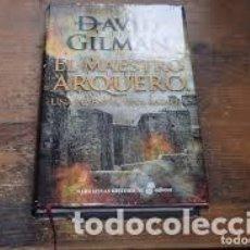 Libros de segunda mano: EL MAESTRO ARQUERO. DAVID GILMAN. (EDITORIAL EDHASA). Lote 212885796