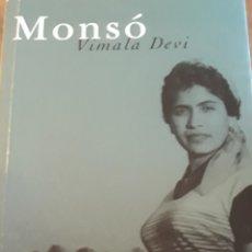 Libros de segunda mano: MONSÓ VIMALA DEVI GOA INDIA. Lote 212937948