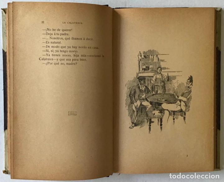 Libros de segunda mano: LA CALATRAVA. Novela de costumbres madrileñas. - ARCE, Francisco de. - Foto 4 - 123157754
