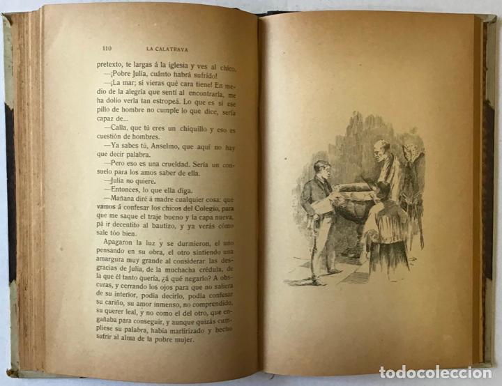 Libros de segunda mano: LA CALATRAVA. Novela de costumbres madrileñas. - ARCE, Francisco de. - Foto 5 - 123157754