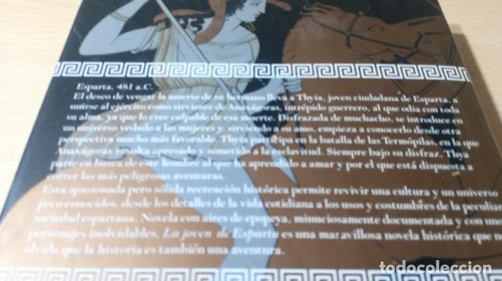 Libros de segunda mano: LA JOVEN DE ESPARTA - CRISTINA RODRIGUEZ - GRIJALBO ZZ406 - Foto 3 - 214300345