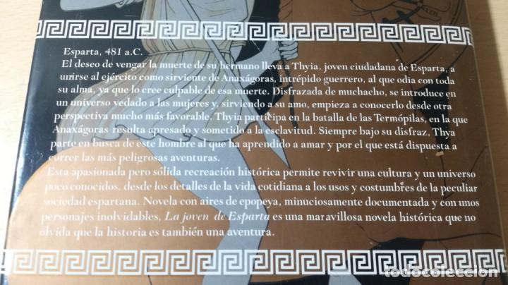 Libros de segunda mano: LA JOVEN DE ESPARTA - CRISTINA RODRIGUEZ - GRIJALBO ZZ406 - Foto 4 - 214300345
