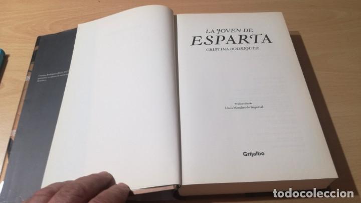 Libros de segunda mano: LA JOVEN DE ESPARTA - CRISTINA RODRIGUEZ - GRIJALBO ZZ406 - Foto 7 - 214300345