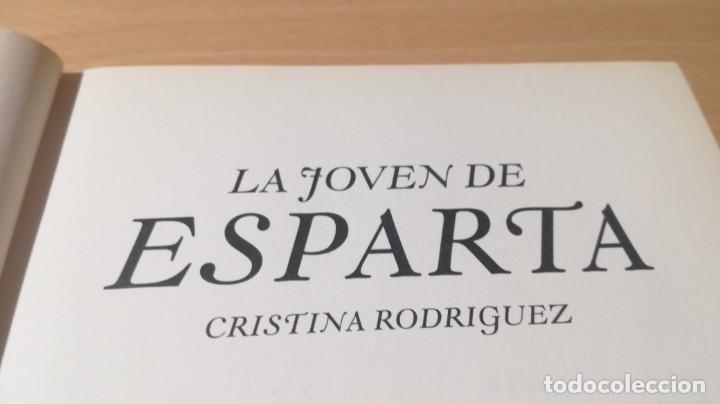 Libros de segunda mano: LA JOVEN DE ESPARTA - CRISTINA RODRIGUEZ - GRIJALBO ZZ406 - Foto 8 - 214300345