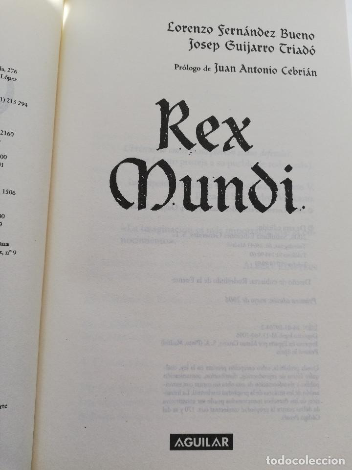 Libros de segunda mano: REX MUNDI (LORENZO FERNÁNDEZ BUENO / JOSEP GUIJARRO TRIADÓ) - Foto 2 - 214340931