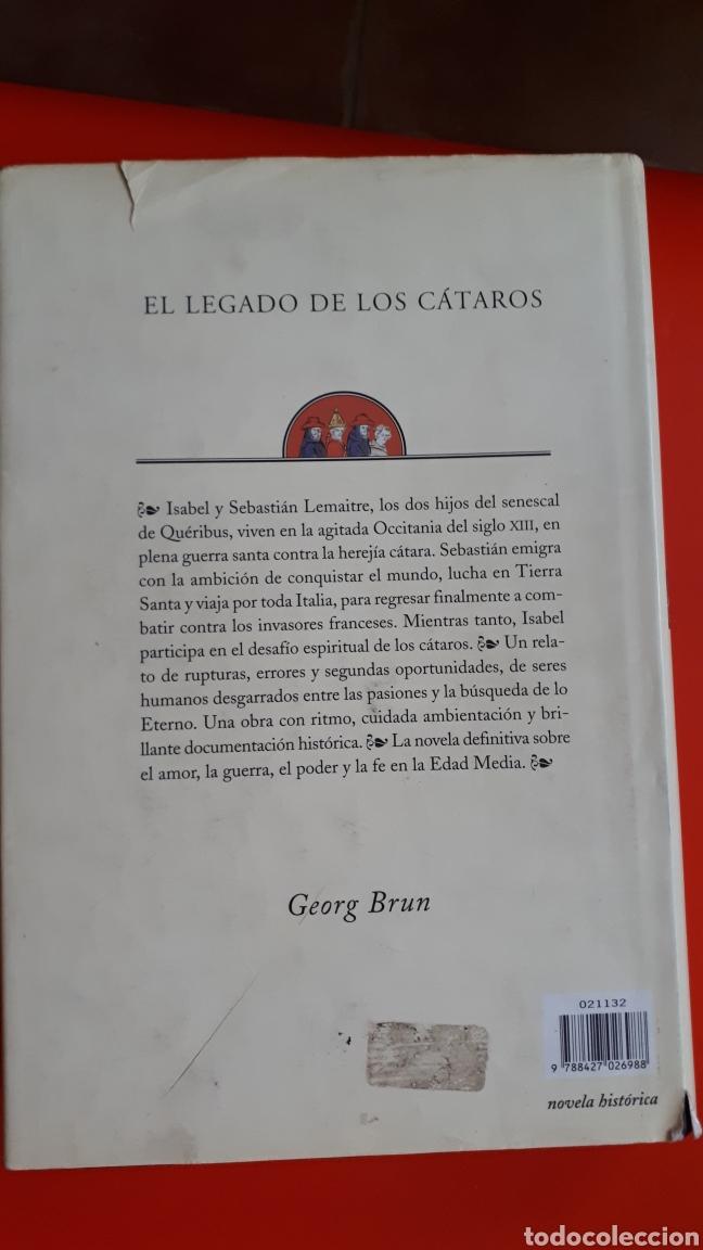 Libros de segunda mano: El legado de los cataros- Georg Brun - Foto 2 - 214924870