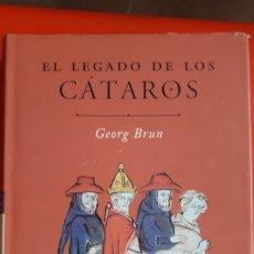 Libros de segunda mano: EL LEGADO DE LOS CATAROS- GEORG BRUN. Lote 214924870