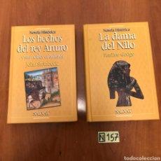 Libros de segunda mano: NOVELAS HISTÓRICAS. Lote 215277372