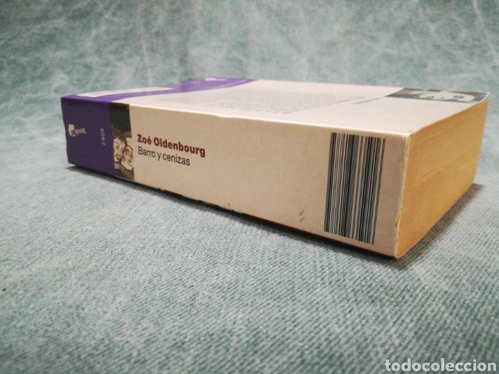 Libros de segunda mano: BARRO Y CENIZAS - ZOÉ OLDENBOURG - Foto 2 - 215430750