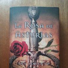 Libros de segunda mano: LA ROSA DE ASTURIAS, INY LORENTZ, EDICIONES B, 2012, NOVELA HISTORIA REINO DE ASTURIAS. Lote 216771582