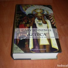 Livres d'occasion: AZTECA , GARY JENNINGS. Lote 217023545