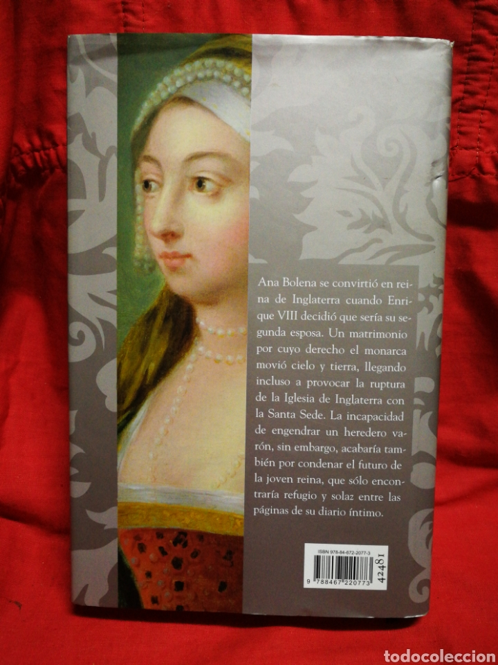 Libros de segunda mano: DIARIO SECRETO DE ANA BOLENA- ROBIN MAXWELL, CÍRCULO DE LECTORES. - Foto 2 - 217273632
