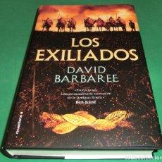 Libros de segunda mano: LOS EXILIADOS / DAVID BARBAREE (LIBRO NUEVO) - ENENO/2020 ACABADO DE COMPRAR. Lote 217398147