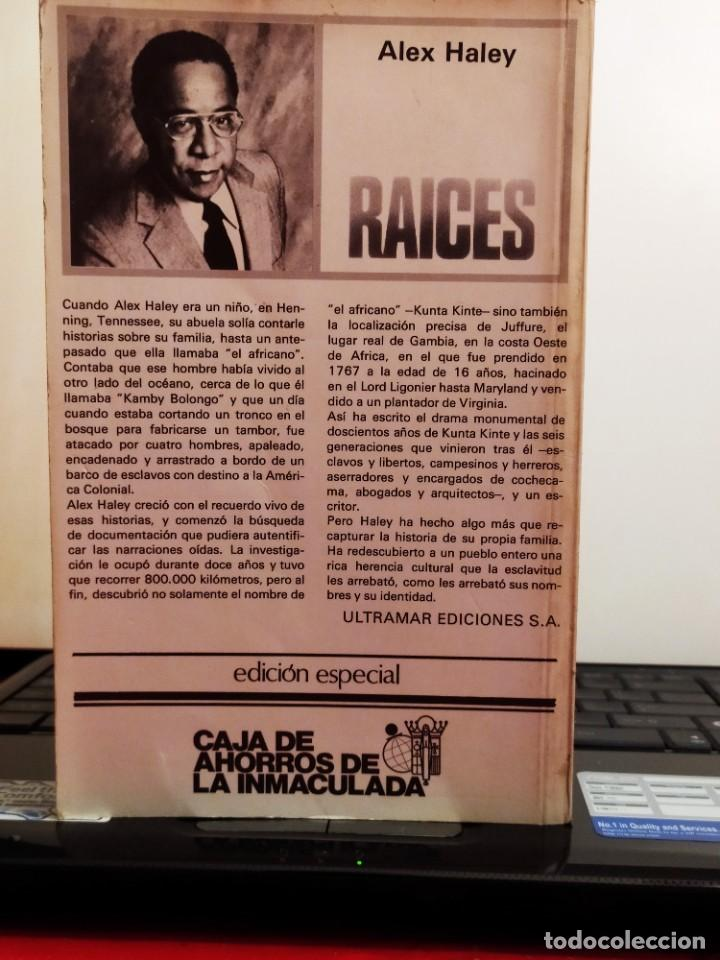Libros de segunda mano: Raices - Foto 2 - 217842913