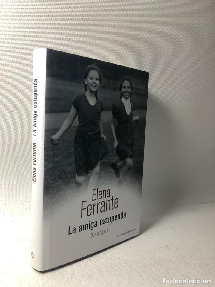 Libros de segunda mano: DOS AMIGAS (COMPLETA 4 VOLS. ) ··· ELENA FERRANTE ·· Ed. CIRCULO DE LECTORES - Foto 5 - 217932972
