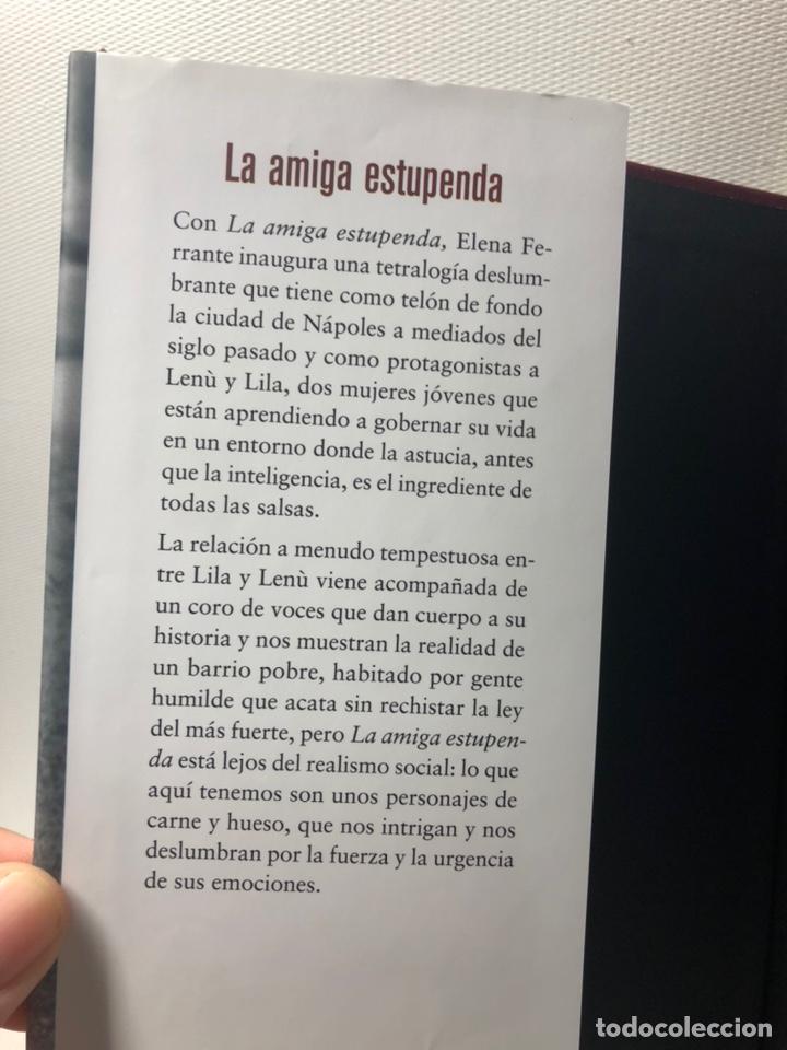 Libros de segunda mano: DOS AMIGAS (COMPLETA 4 VOLS. ) ··· ELENA FERRANTE ·· Ed. CIRCULO DE LECTORES - Foto 6 - 217932972