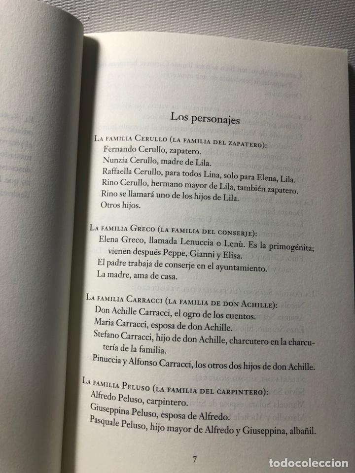 Libros de segunda mano: DOS AMIGAS (COMPLETA 4 VOLS. ) ··· ELENA FERRANTE ·· Ed. CIRCULO DE LECTORES - Foto 7 - 217932972