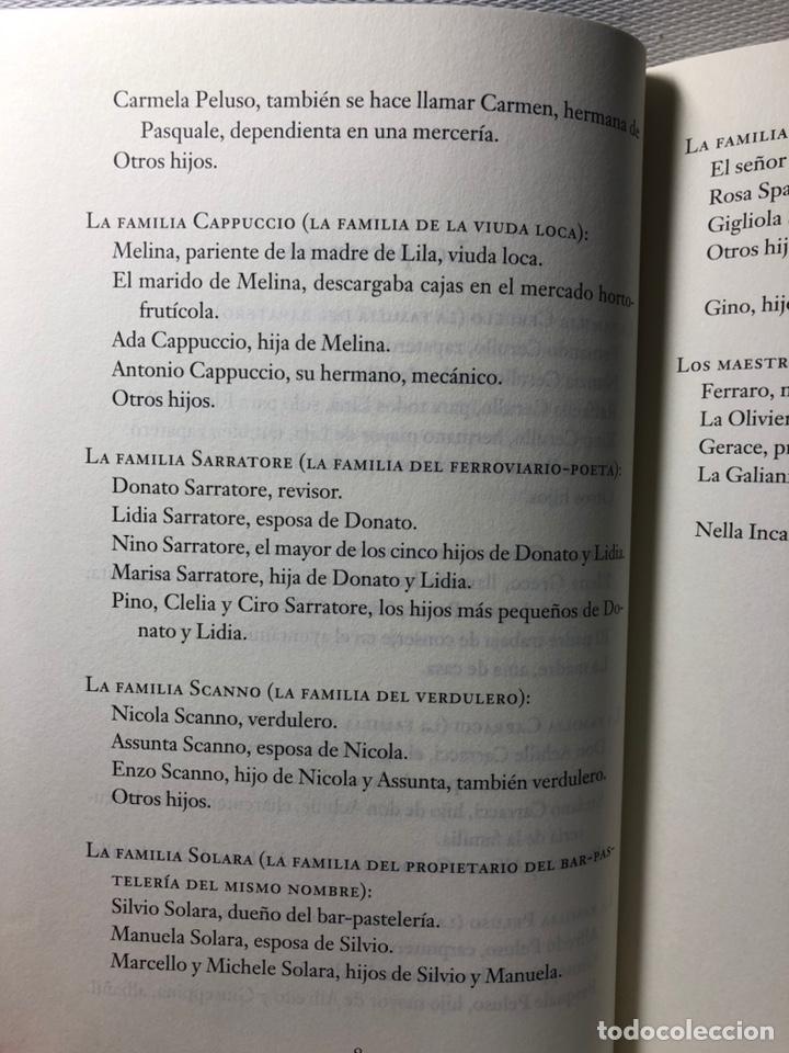 Libros de segunda mano: DOS AMIGAS (COMPLETA 4 VOLS. ) ··· ELENA FERRANTE ·· Ed. CIRCULO DE LECTORES - Foto 8 - 217932972