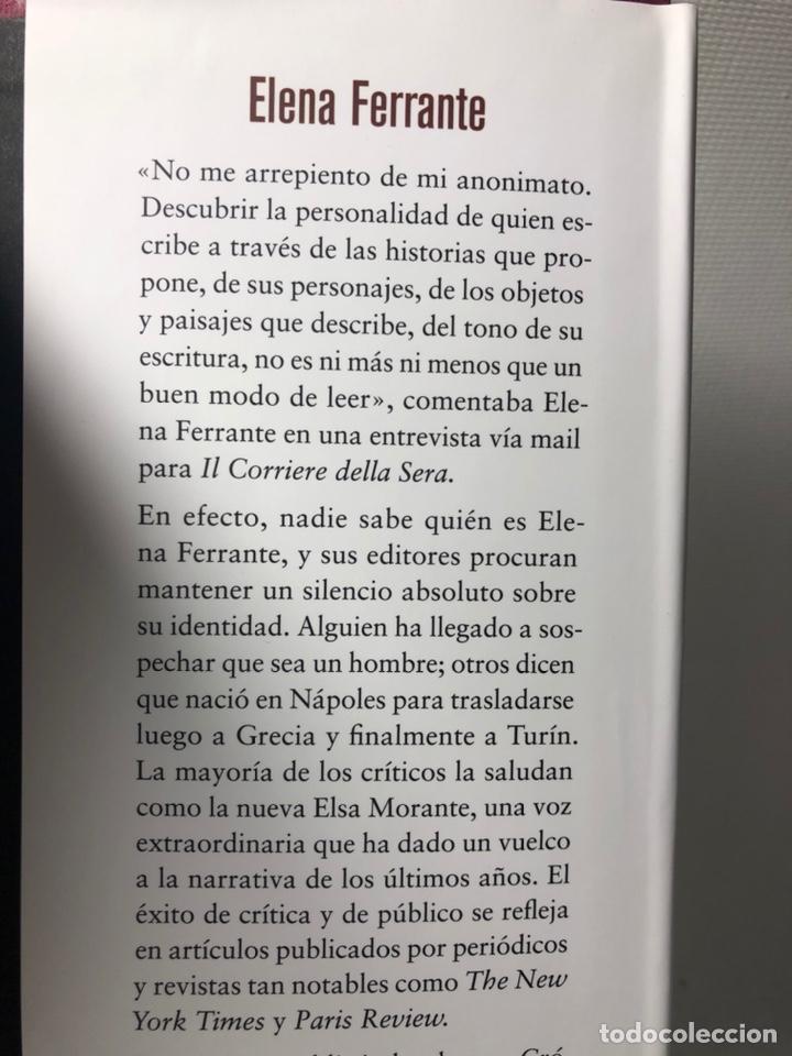 Libros de segunda mano: DOS AMIGAS (COMPLETA 4 VOLS. ) ··· ELENA FERRANTE ·· Ed. CIRCULO DE LECTORES - Foto 10 - 217932972