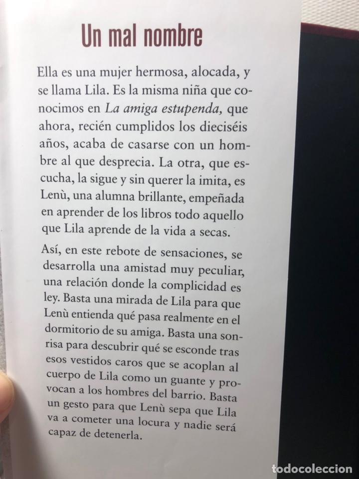 Libros de segunda mano: DOS AMIGAS (COMPLETA 4 VOLS. ) ··· ELENA FERRANTE ·· Ed. CIRCULO DE LECTORES - Foto 12 - 217932972