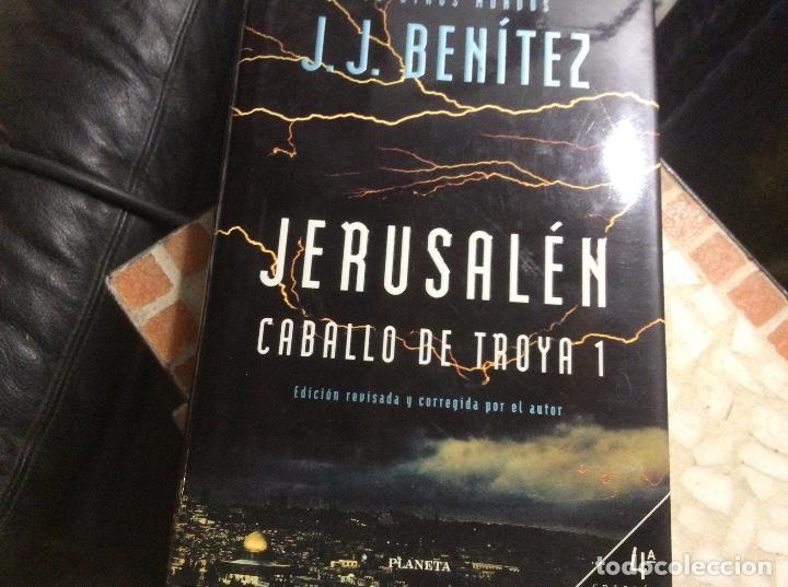 CABALLO DE TROYA 1 - JERUSALÉN - J.J. BENÍTEZ - EDICIÓN DE LUJO REVISADA Y CORREGIDA (Libros de Segunda Mano (posteriores a 1936) - Literatura - Narrativa - Novela Histórica)