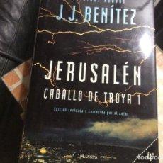 Livros em segunda mão: CABALLO DE TROYA 1 - JERUSALÉN - J.J. BENÍTEZ - EDICIÓN DE LUJO REVISADA Y CORREGIDA. Lote 261322480