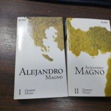 Livros em segunda mão: ALEJANDRO MAGNO I Y ALEJANDRO MAGNO II. GISBERT HAEFS. DOS TOMOS. EL PAIS NOVELA HISTORICA. 2005.. Lote 219169020